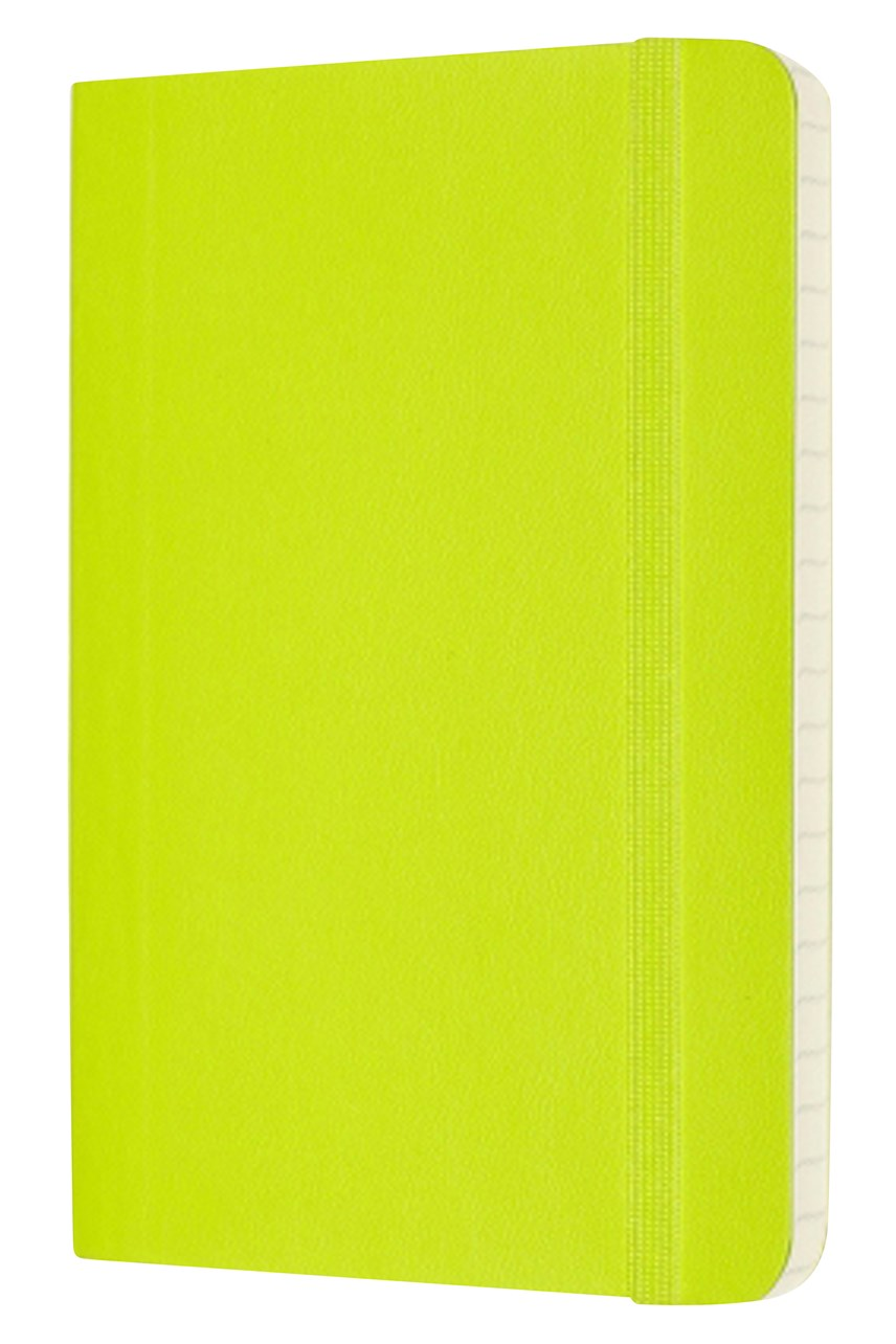 Classic Soft Cover Ruled Notebook - Pocket