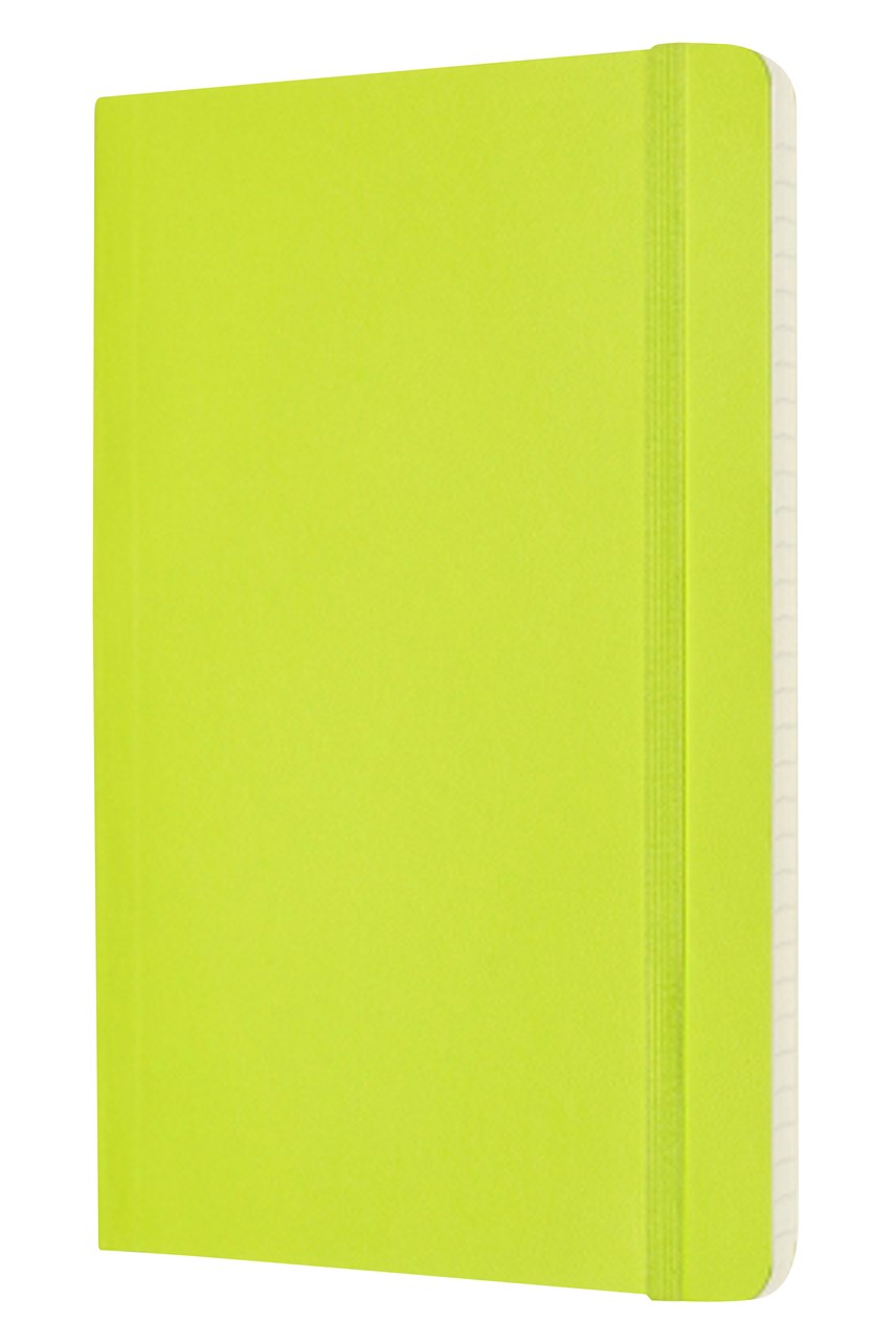 Classic Soft Cover Ruled Notebook - Large