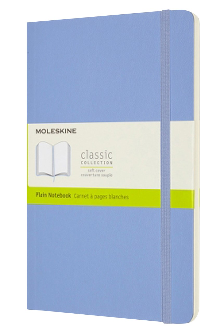 Classic Soft Cover Plain Notebook L
