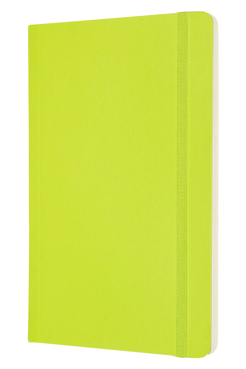 Classic Soft Cover Plain Notebook - Large