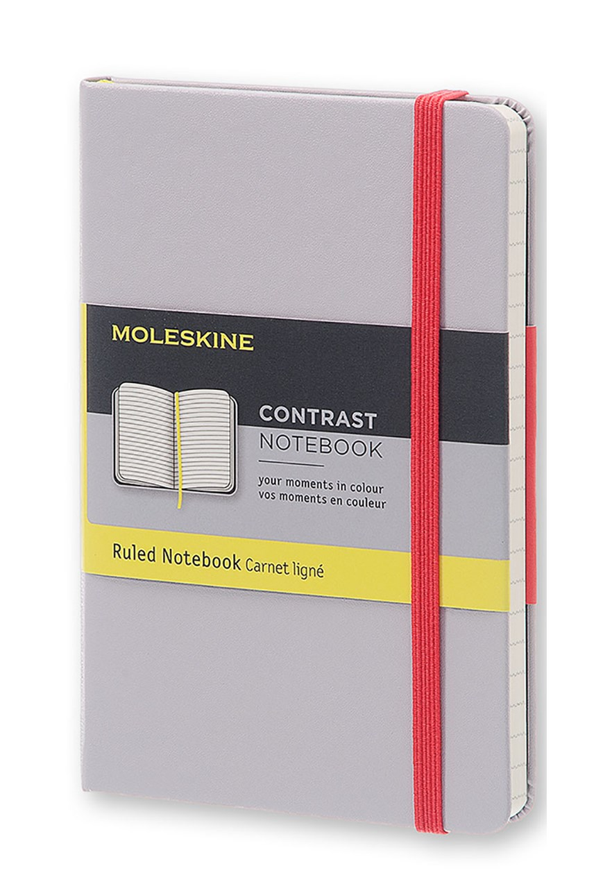 'Contrast Collection' Ruled Pocket Notebook