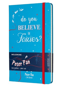 Limited Edition Peter Pan Large Notebook BLUE 1
