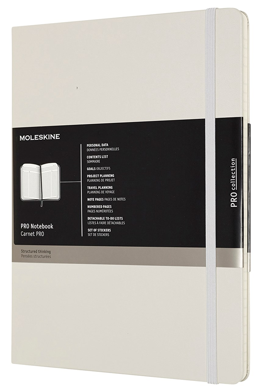 Professional Hardcover Notebook XL