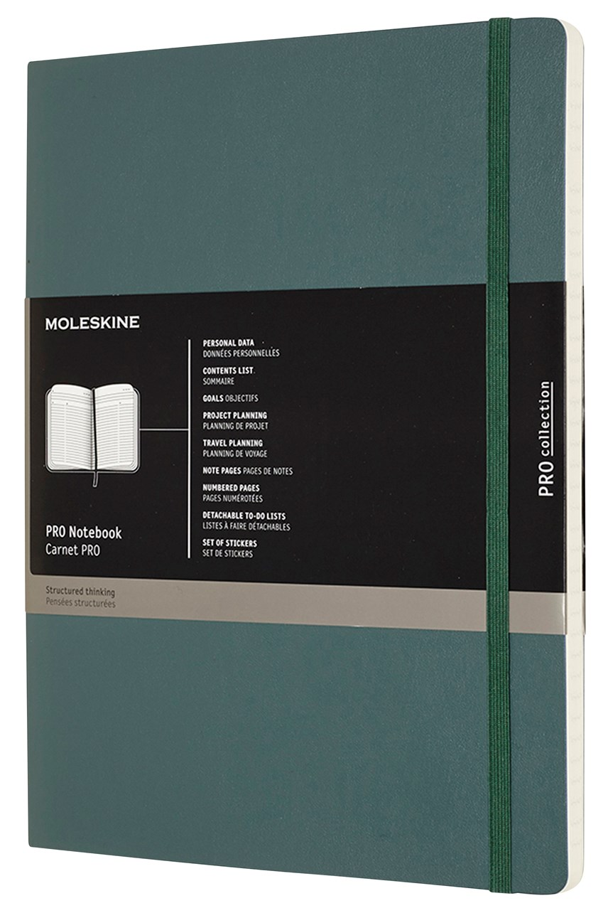 Professional Softcover Notebook XL