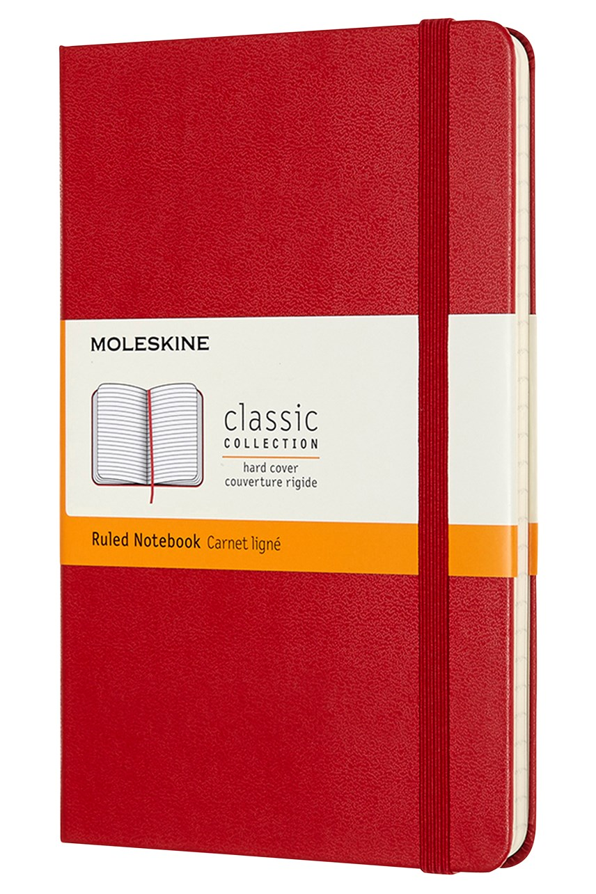 Classic Hardcover Ruled Notebook