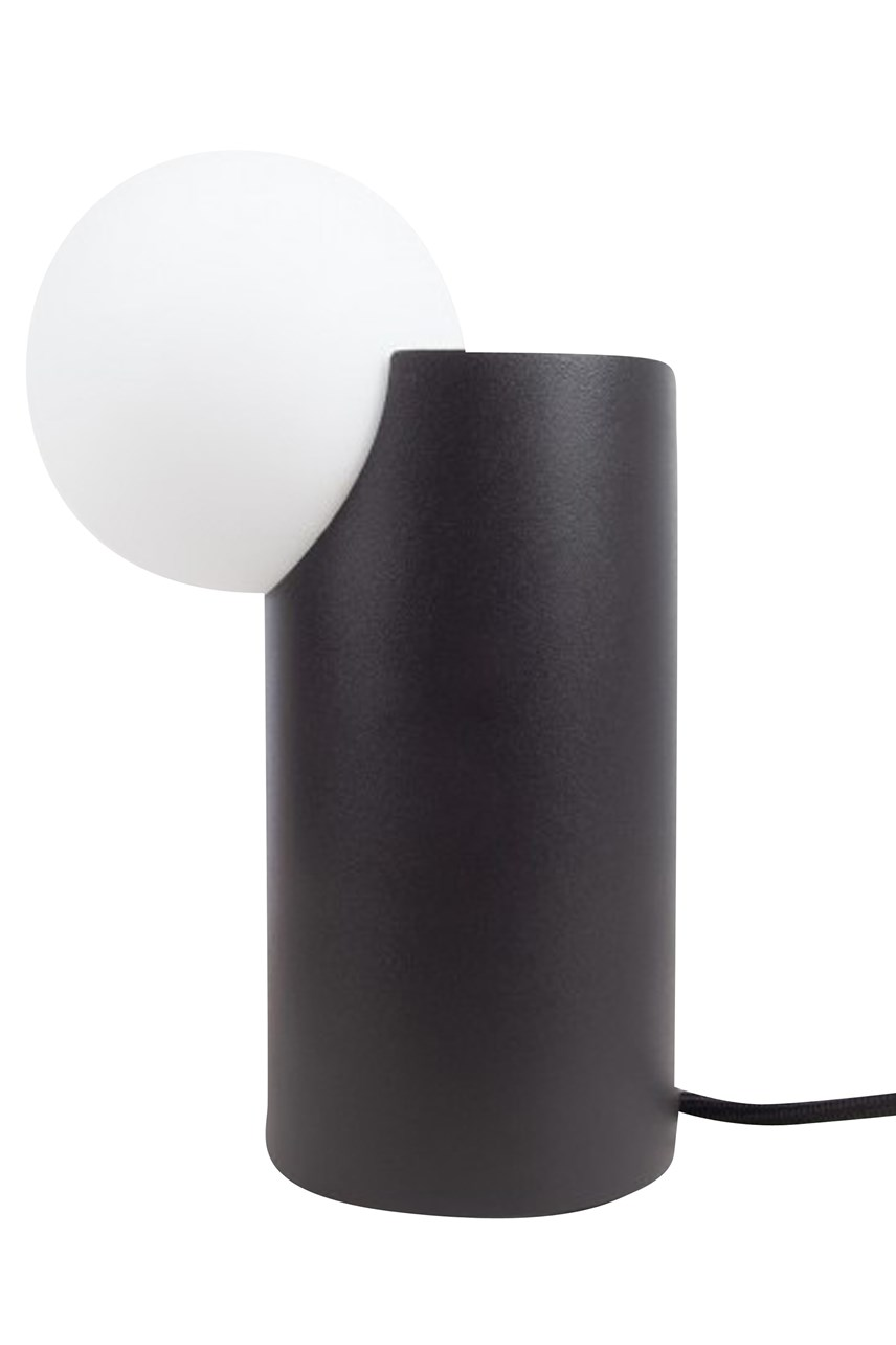 Form Cylinder Light - Black