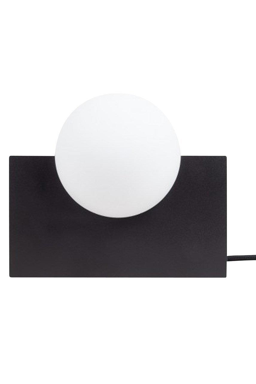 Form Rectangle Light - Black