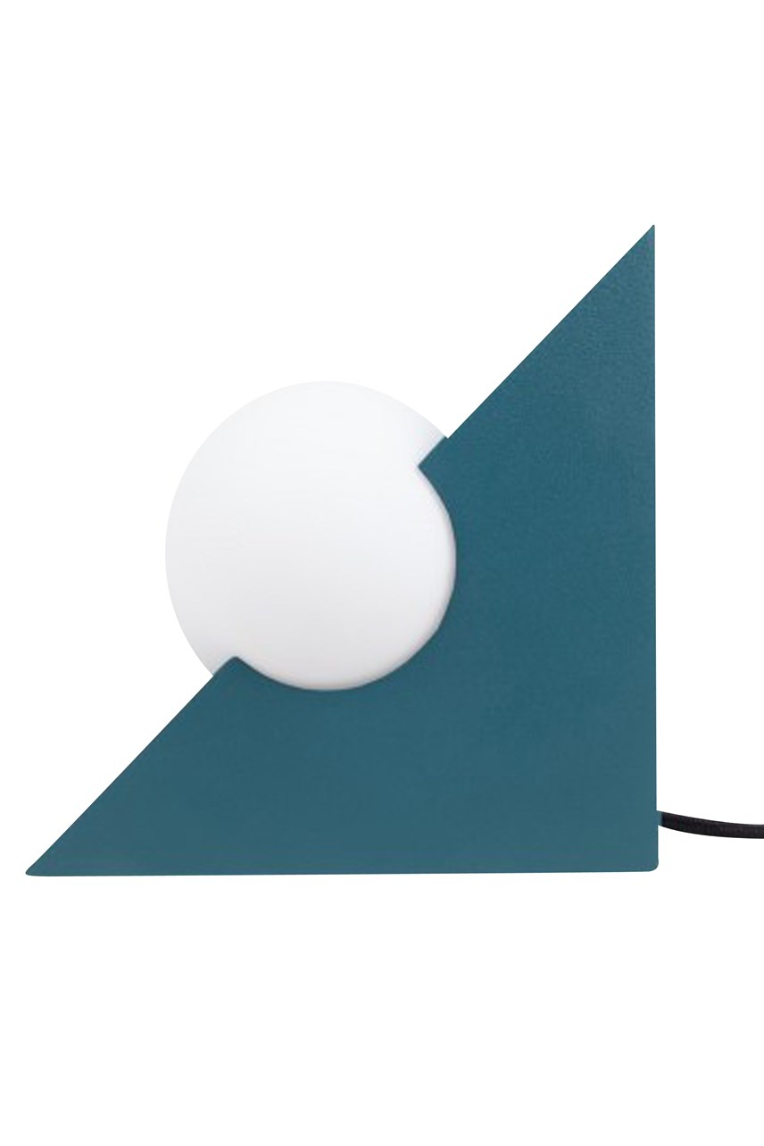Form Triangle Light - Teal