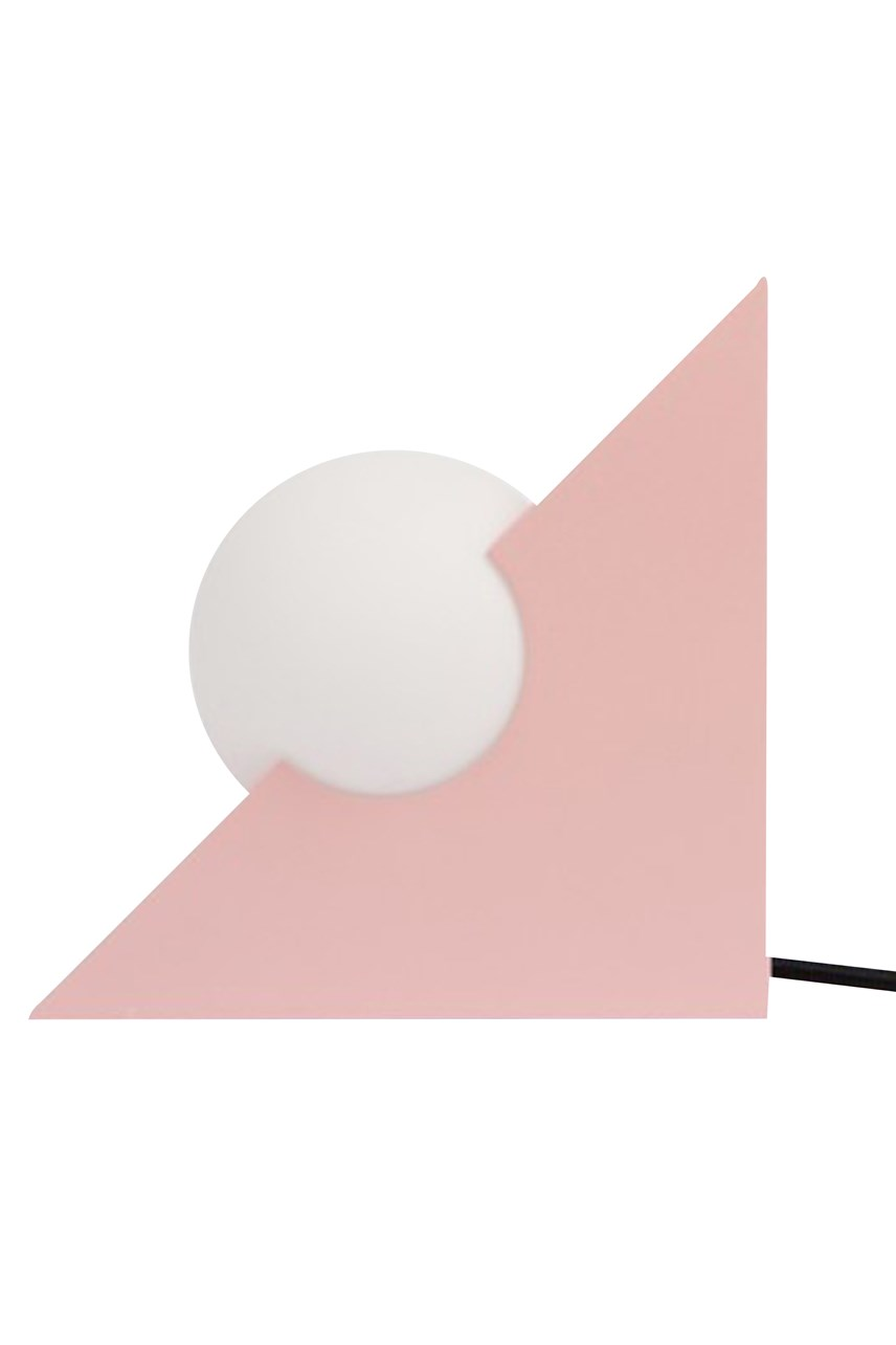 Form Triangle Light - Pink