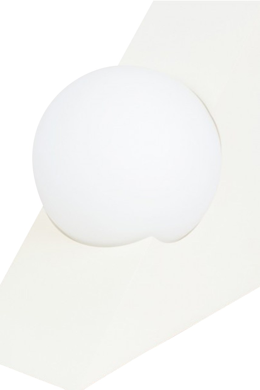 Form Triangle Light - White