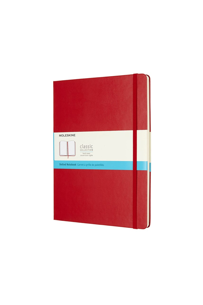 Classic Hard Cover Dot Grid Notebook
