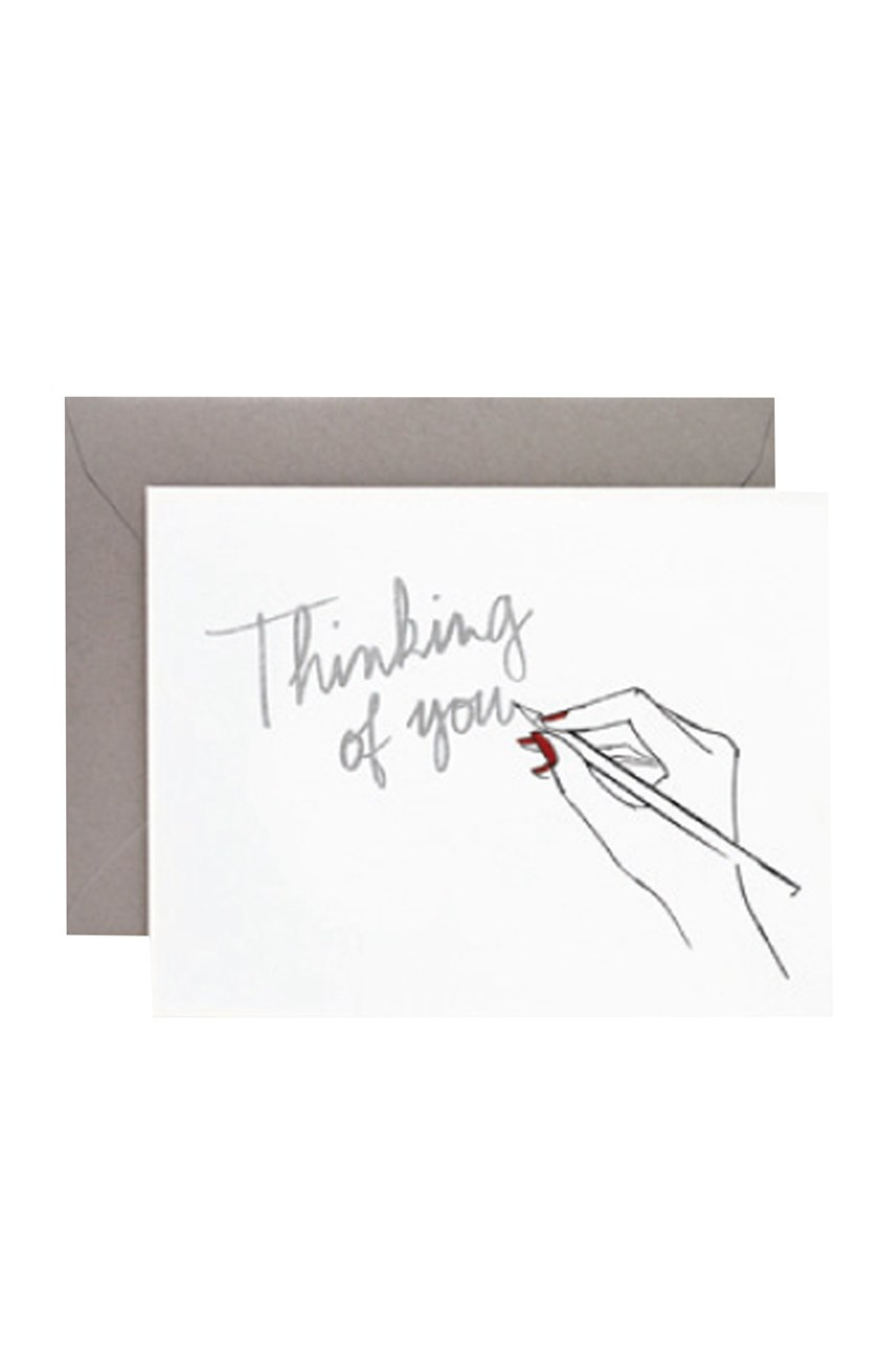 Garance Doré Thinking Of You Card