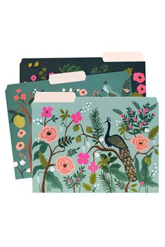Shanghai Garden A4 File Folders - Set Of 6 - shanghai garden