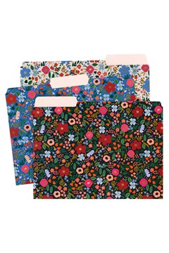Wild Rose A4 File Folders - Set Of 6 WILD ROSE 1