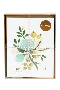 Floral Boxed Card Set 1