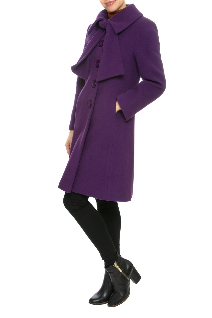 Bow Neck Coat