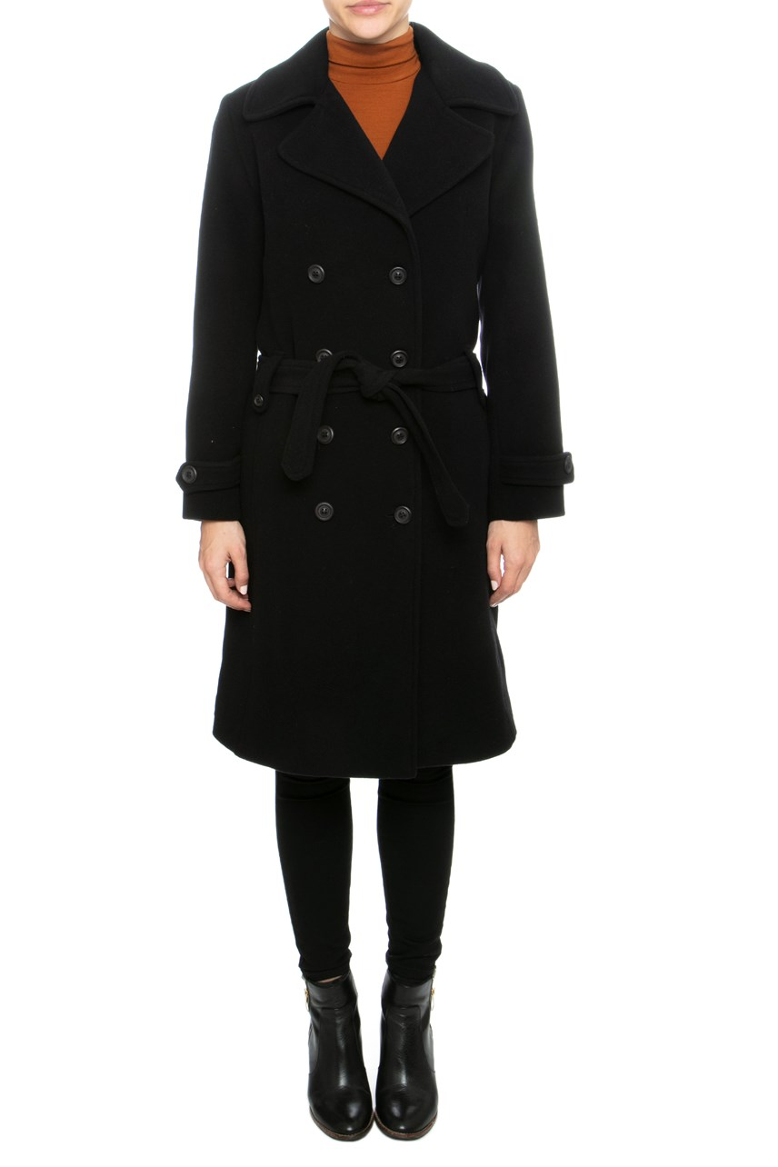 'Agent' Double Breasted Trench Coat
