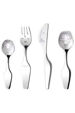 Alfredo 'The Twist Family' 4-Piece Cutlery Set 1