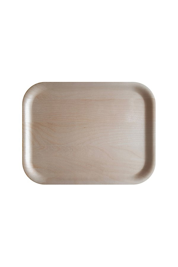 Birch Rectangular Tray - 36x28cm