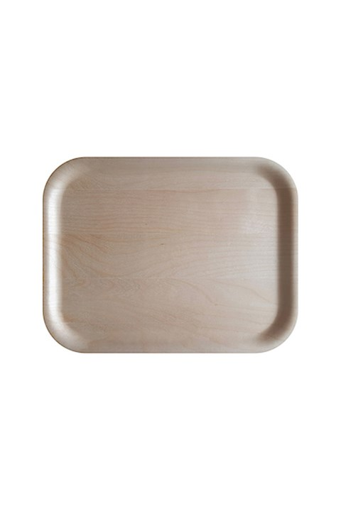 Birch Rectangular Tray - 36x28cm - birch