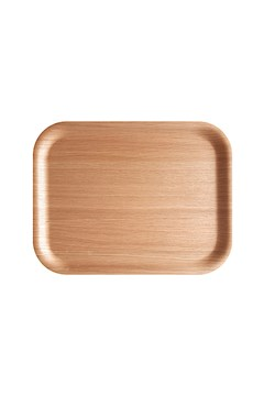 Oak Rectangular Tray - 36x28cm OAK 1