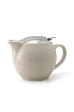 Artisan Teapot 450ml Crackle Brown 1
