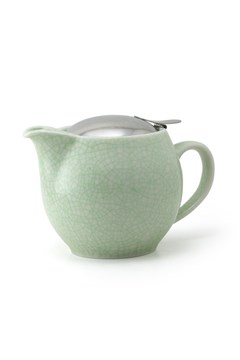 Artisan Teapot 450ml Crackle Green 1