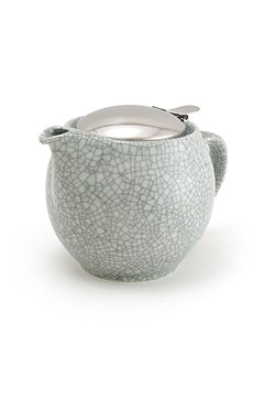 Teapot 450ml Crackle Smoke 1