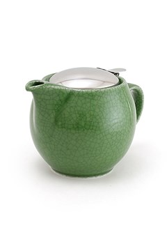 Teapot 450ml Crackle Green 1