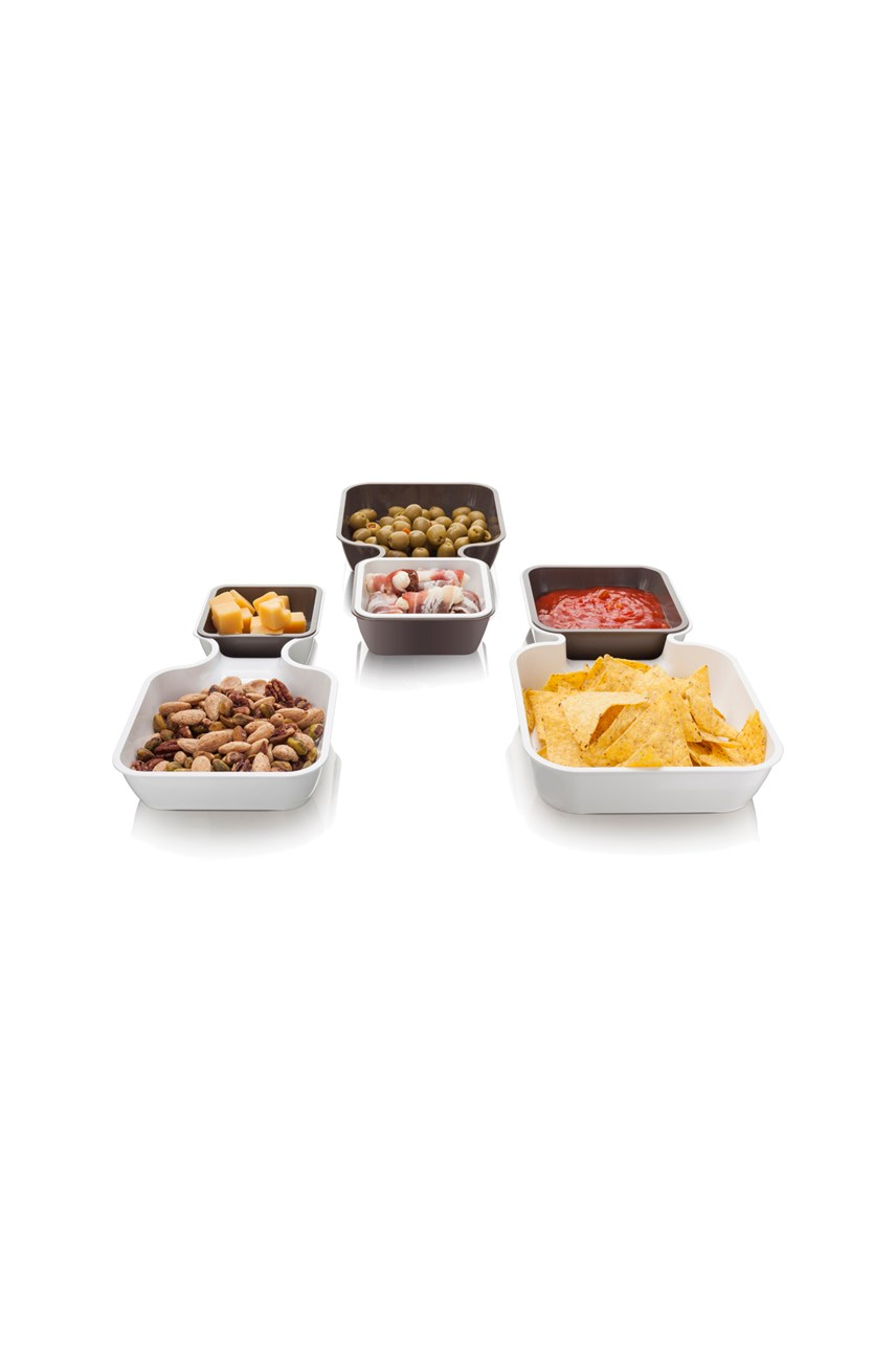 Serve & Stack Set of 6