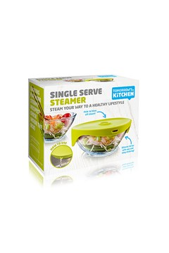 Single Serve Steamer - green