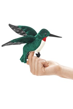 Mini Hummingbird Puppet 1