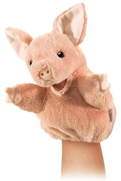 Little Pig Puppet 1
