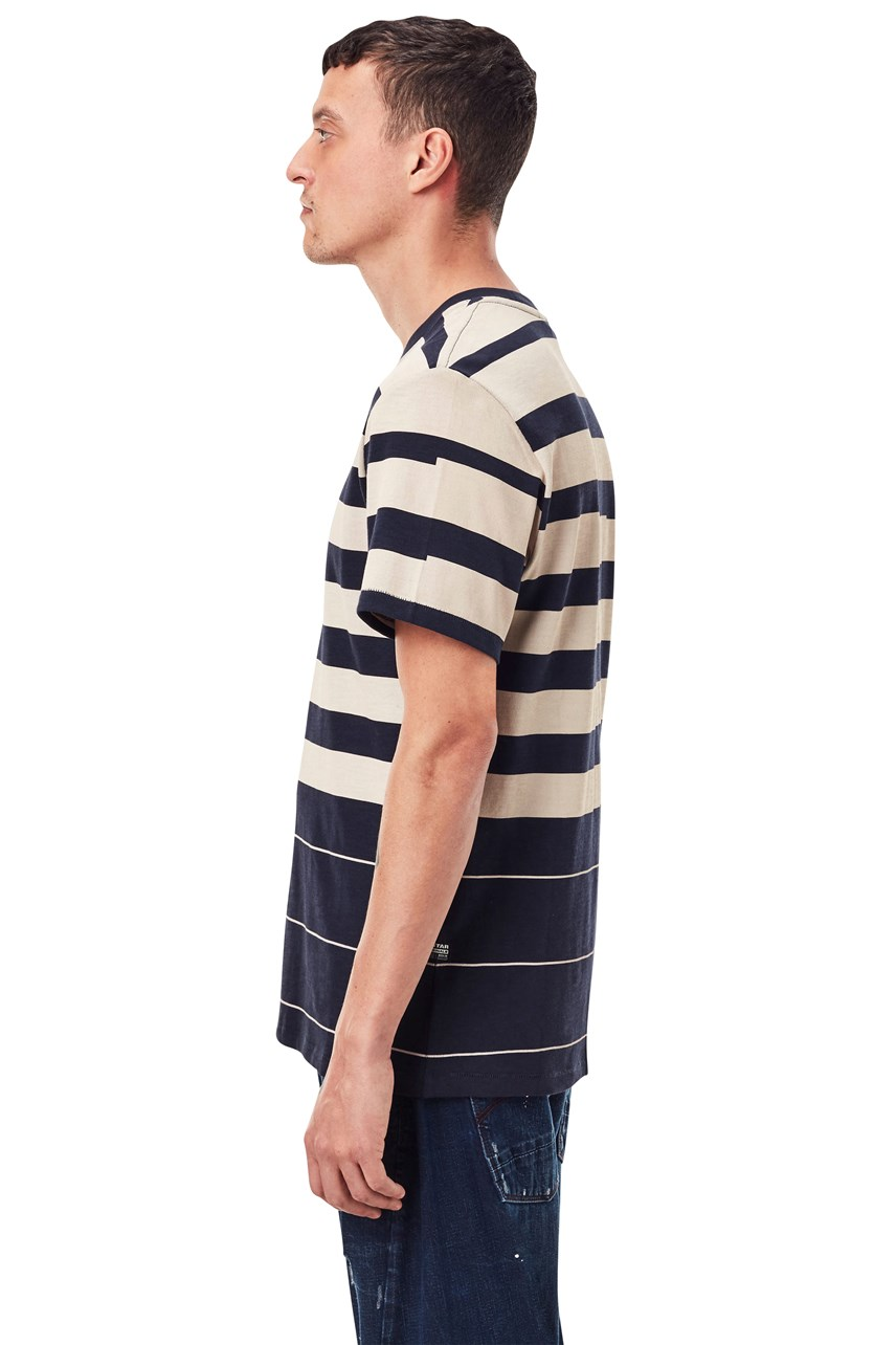 Pixelated Stripe T-Shirt