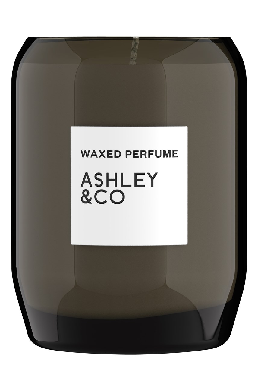 Waxed Perfume Natural Blend Candle - Bubbles & Polka Dots