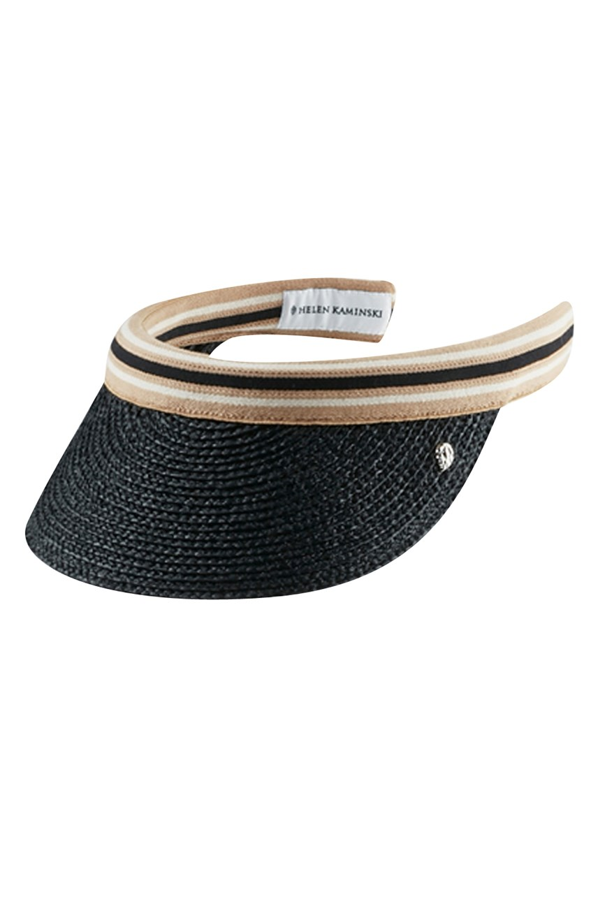 Marina Raffia Braid Visor Hat