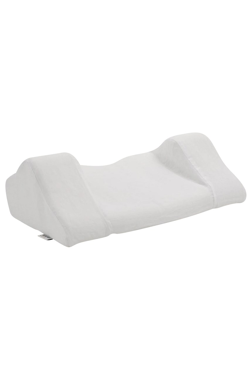 Back Sleep Pillow With Linen Pillowcase
