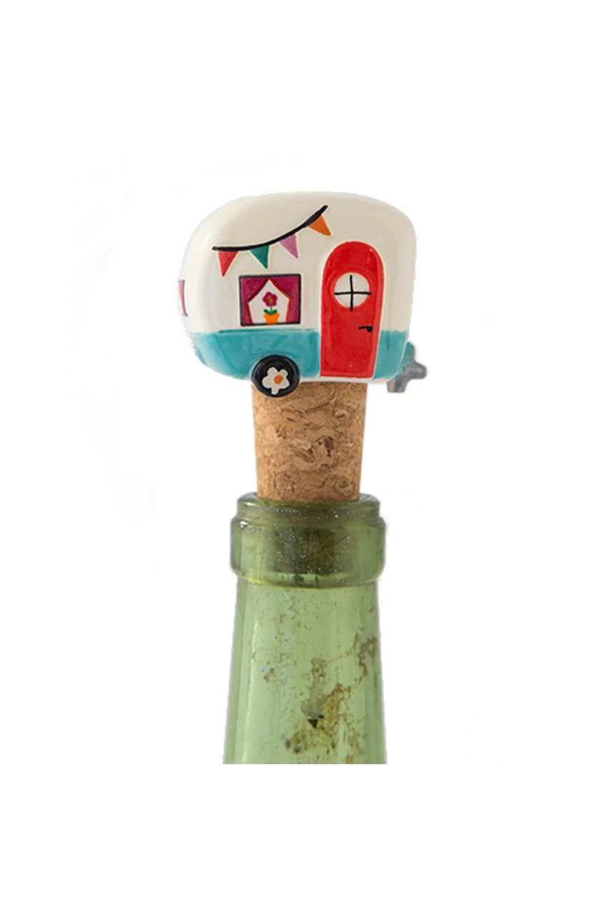 Camper Be Happy Bottle Stopper