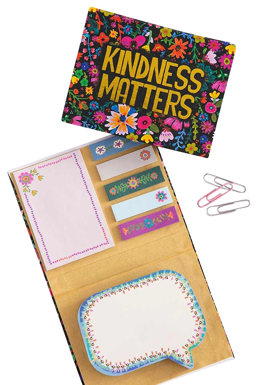 Kindness Matters Sticky Note Book