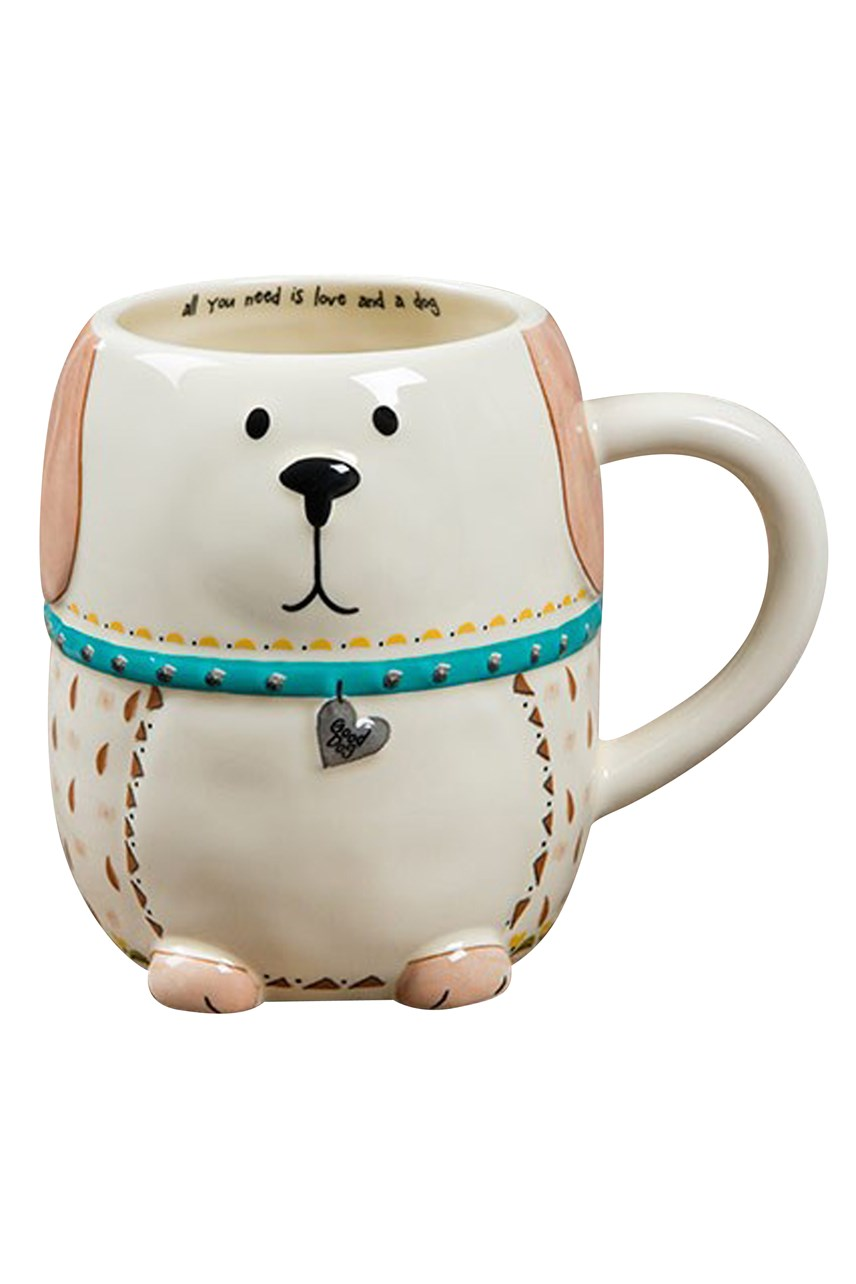Folk Love And A Dog Mug