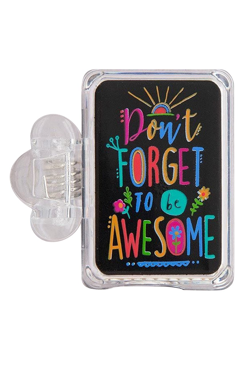 Be Awesome Toothbrush Cover