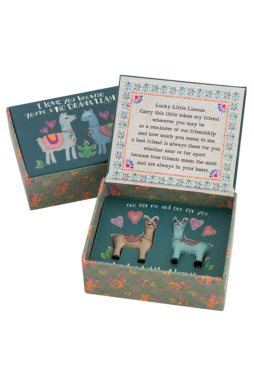 Lucky Little Llama Tokens - Set Of 2