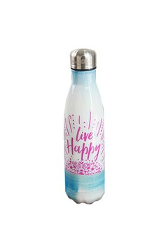 Live Happy Water Bottle MULTICOLOURED 1