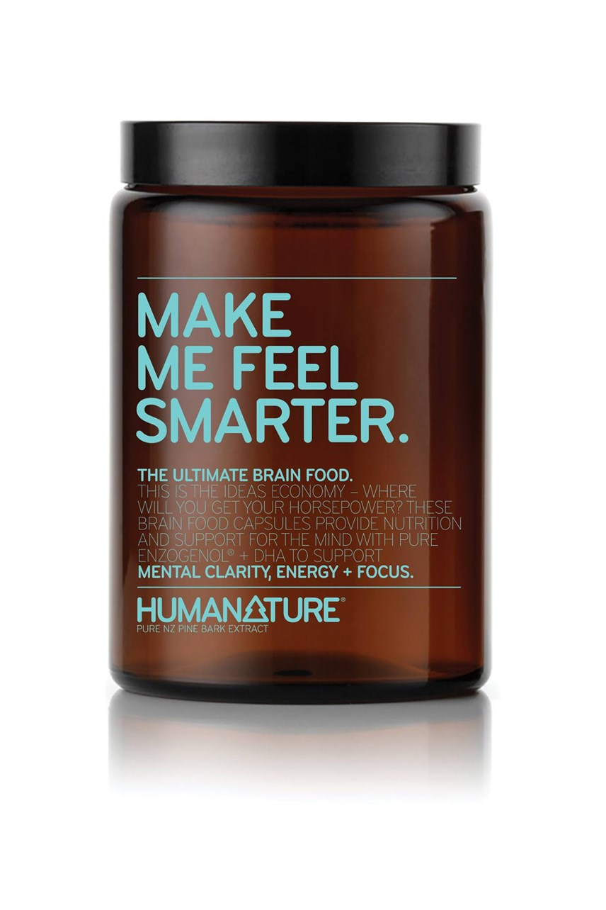 'Make Me Feel Smarter' Supplements