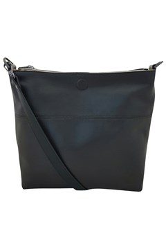 Reversable Leather Handbag BLACK 1