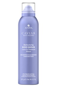 CAVIAR Anti-Aging Restructuring Bond Repair Leave-in Treatment Mousse 1