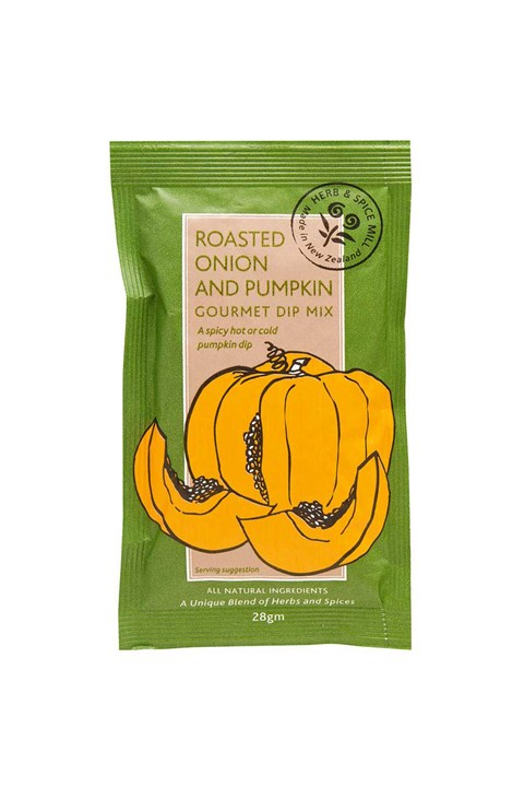 Roasted Onion & Pumpkin Gourmet Dip Mix -