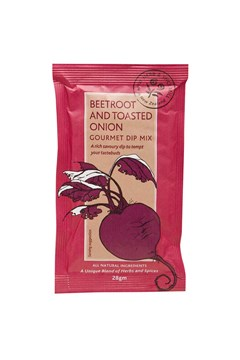 Beetroot And Toasted Onion Gourmet Dip Mix 1
