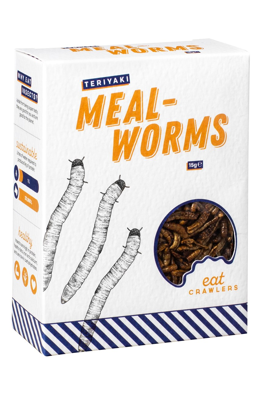 Teriyaki Mealworms