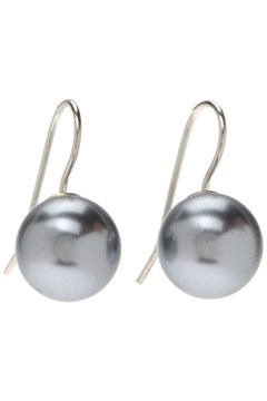 Pearl Earrings GREY 1